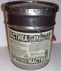битумной гидроизоляционной мастики