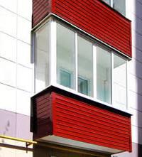 остеклении балконов