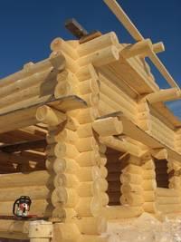 Основные этапы строительства деревянных домов.