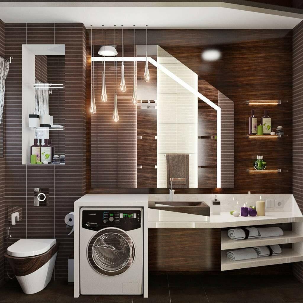 Идеи обустройства ванной комнаты