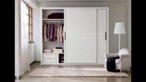 Шкафы для одежды белого цвета